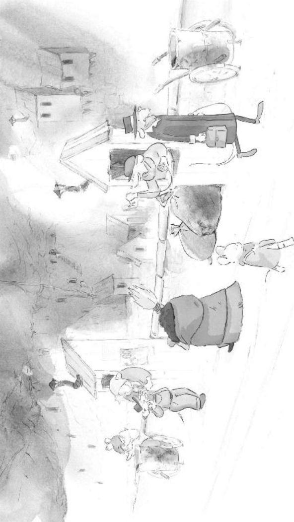 Ernest en Celestine (7) kleurplaat