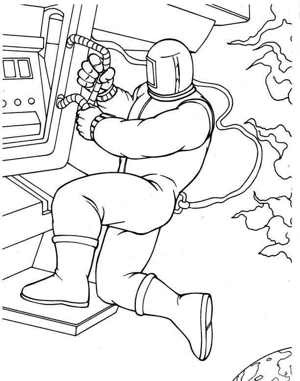 Fantastic Four (27) coloring page