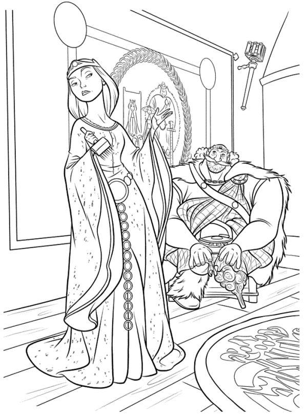 Fergus och Elinor målarbok