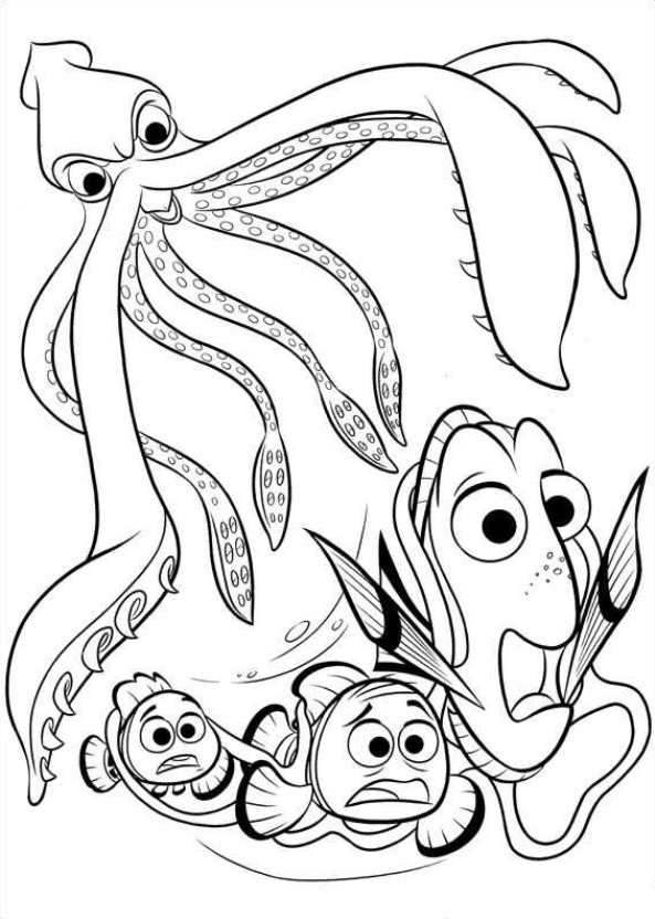 Finding Dory (4) coloring page