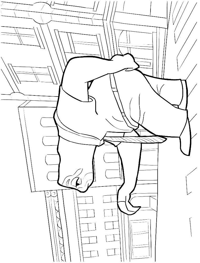 flash (2) coloring page