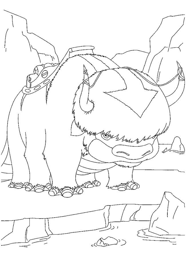 Flopsie coloring page