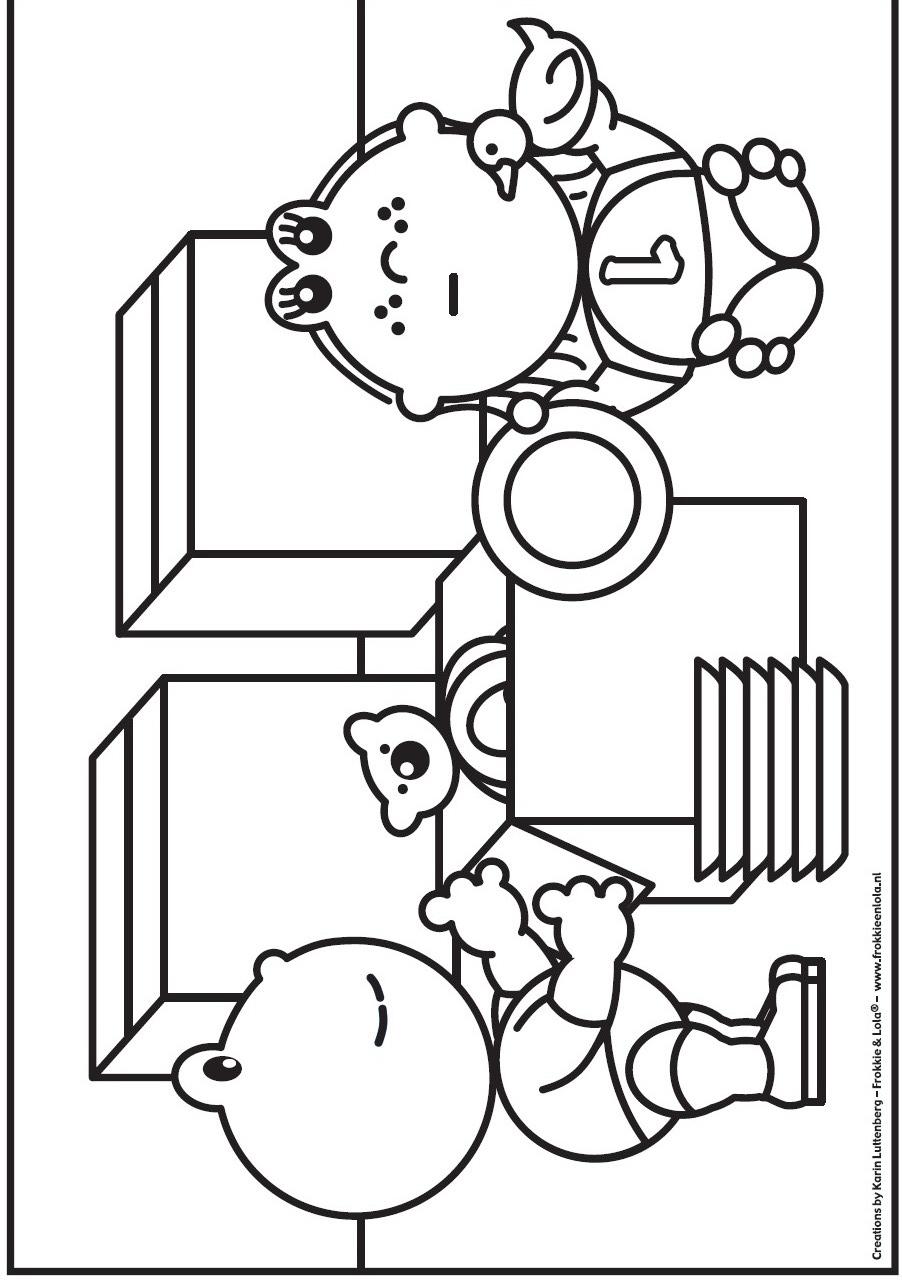 Раскраска Фрокки и Лола (32)