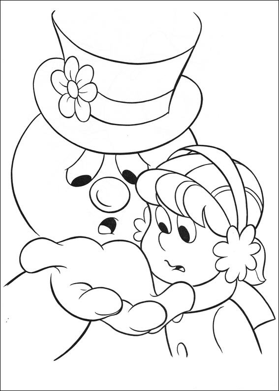 Frosty (15) coloring page