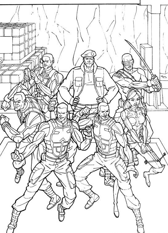 GI Joe (38) coloring page
