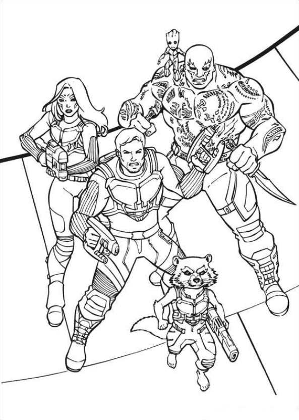 gardiens-of-the-galaxy-08 coloring page