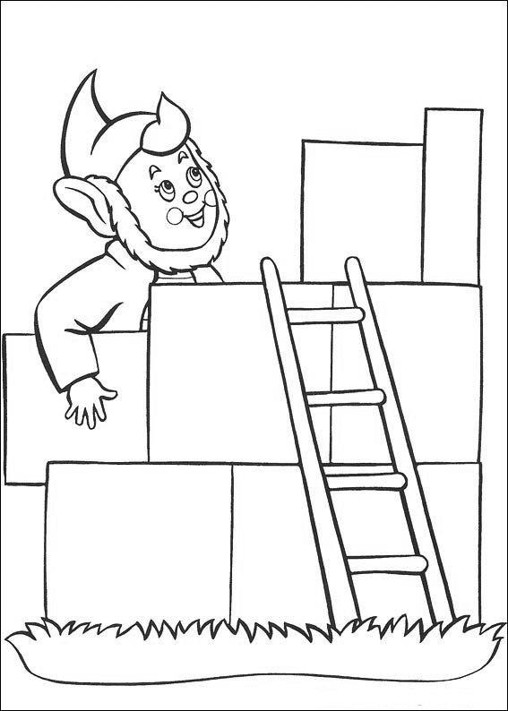 Pagina da colorare di Groot-Oor costruisce