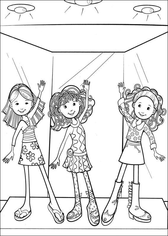 Groovy κορίτσια (15), σχέδια για ζωγραφική