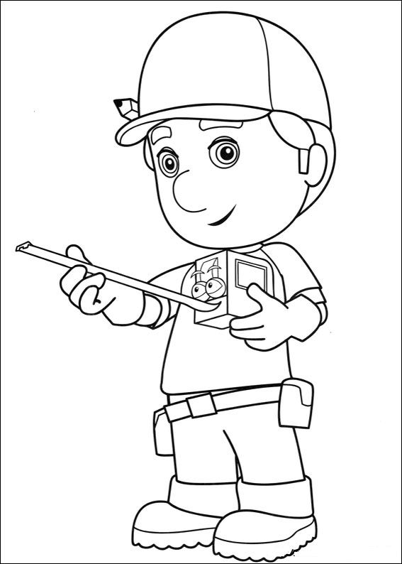 Handy Manny (13) coloring page