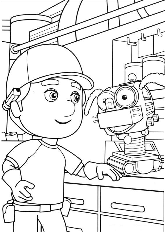 Handy Manny (17) coloring page