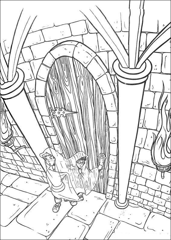 Harry Potter (57) målarbok