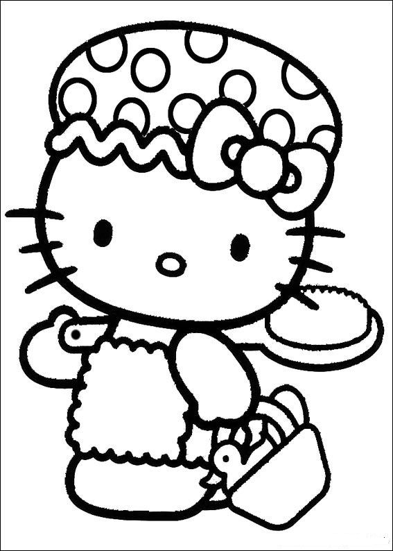 Hello Kitty (26) coloring page