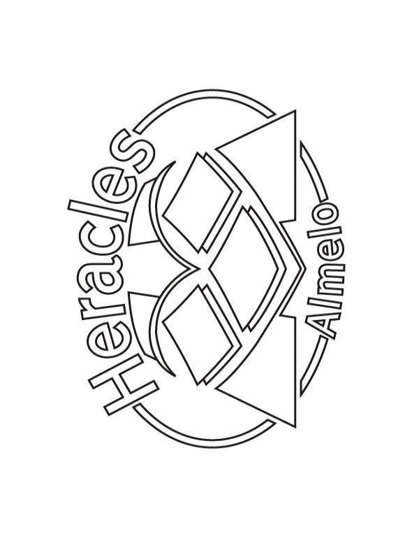 Heracles Kleurplaat Jouwkleurplaten