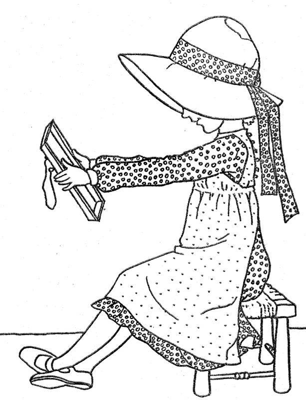Holly Hobbie - αρχική (3), σχέδια για ζωγραφική