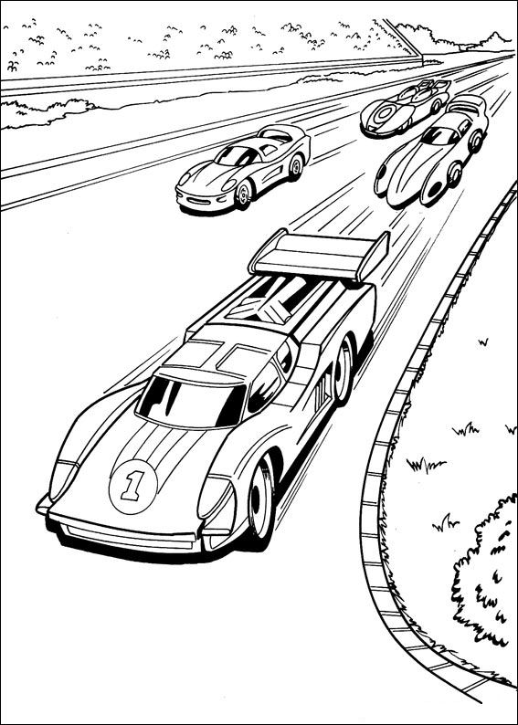 Hot Wheels (23) coloring page
