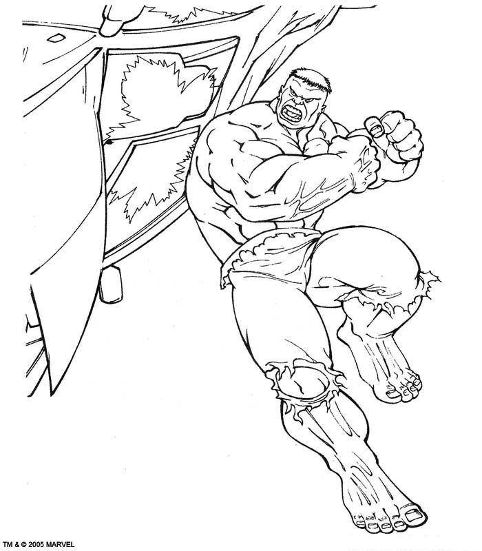 Kleurplaten De Hulk.Hulk Kleurplaat Jouwkleurplaten