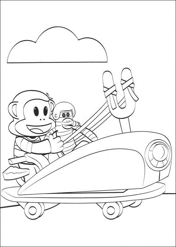 Julius Jr (10) coloring page