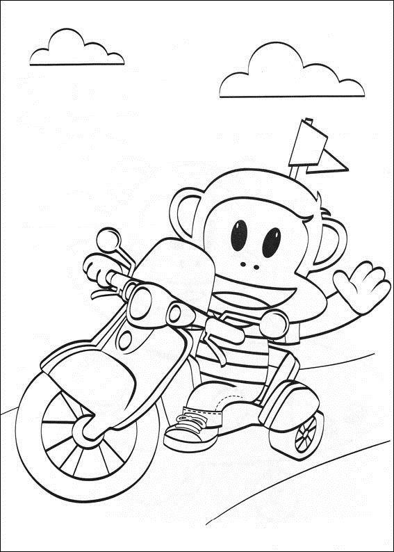 Julius Jr (11) coloring page