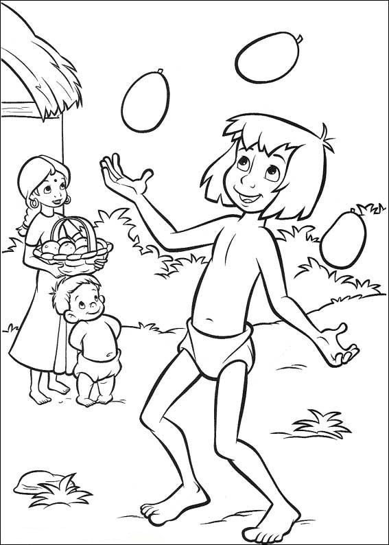 Jungle Book 2 (4) coloring page