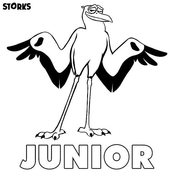 coloriage junior