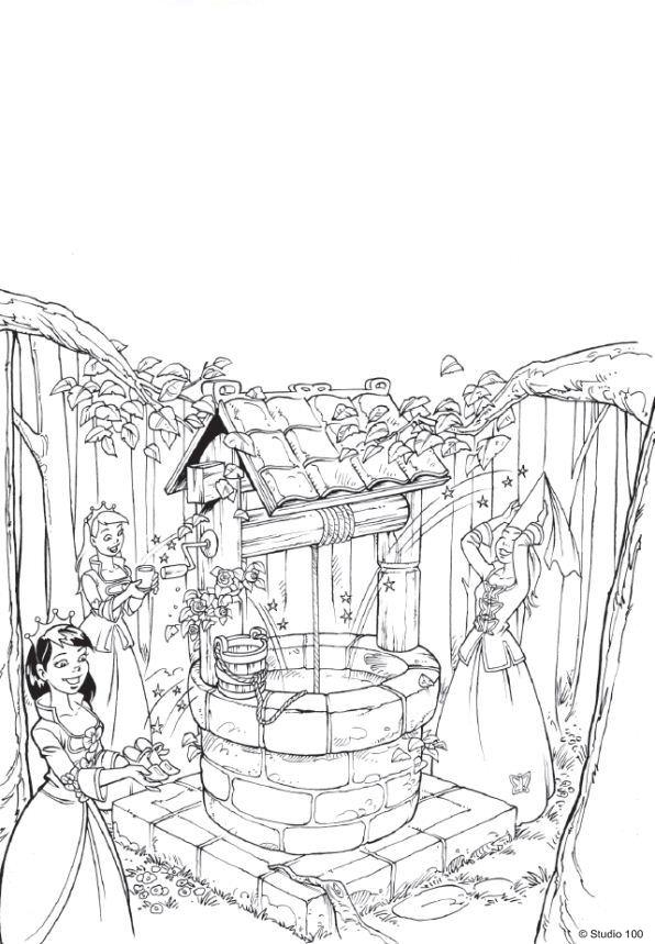 Раскраска K3 сказки (11)