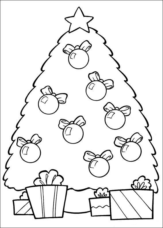 Kleurplaten Peuters Kerstmis.Kerstmis Kleurplaat Jouwkleurplaten