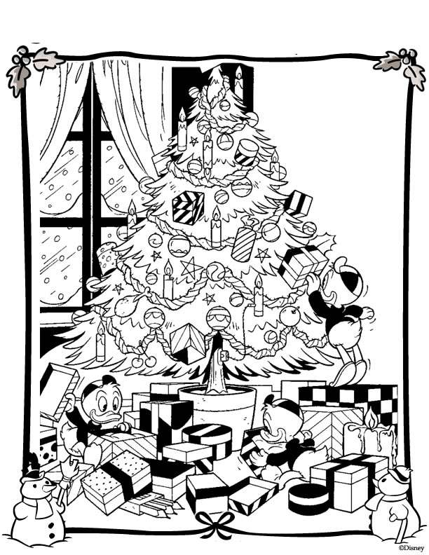 Christmas Disney (25) coloring page