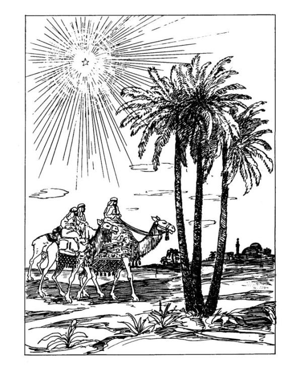 Christmas (traditional) (7) coloring page