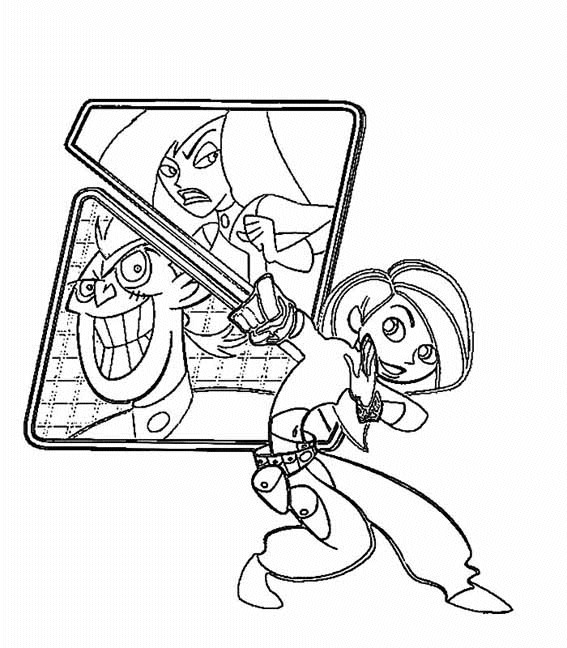 Kim Possible (5) coloring page