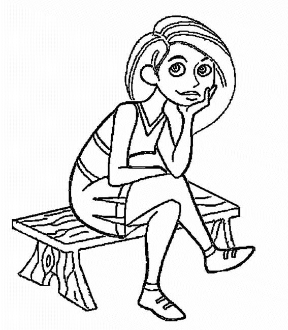 Kim Possible (7) coloring page