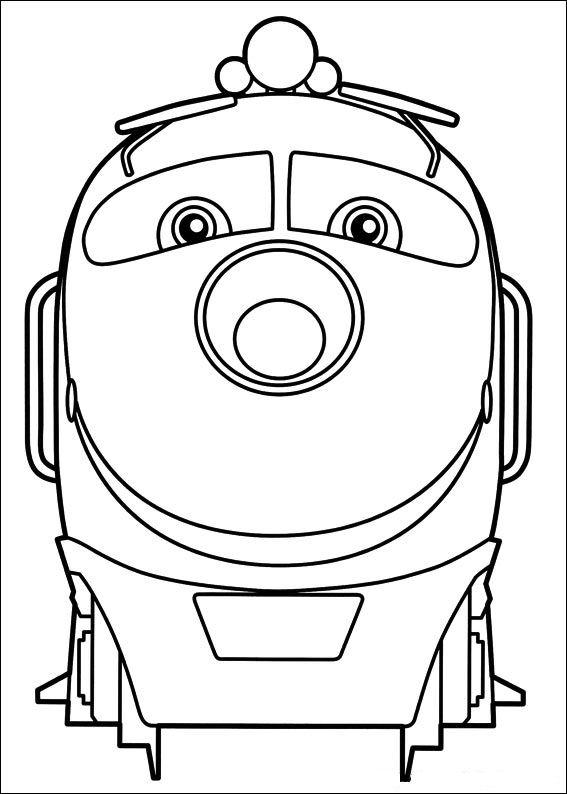 Koko (1) coloring page