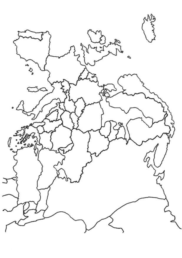 Ευρώπη σχέδια για ζωγραφική