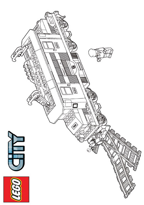 Lego (28) coloring page