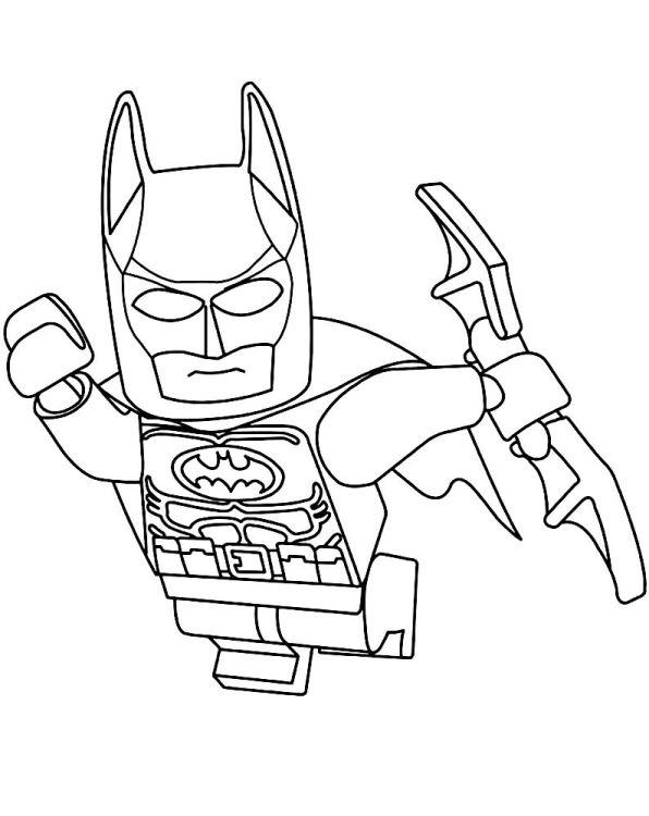 Kleurplaten Lego Batman 3.Lego Batman 3 Kleurplaat Jouwkleurplaten