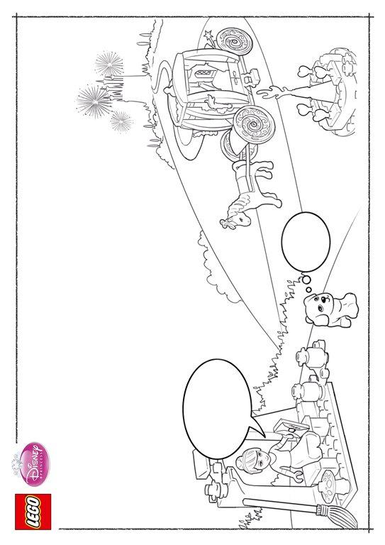 Lego Disney Princesses (5) coloring page