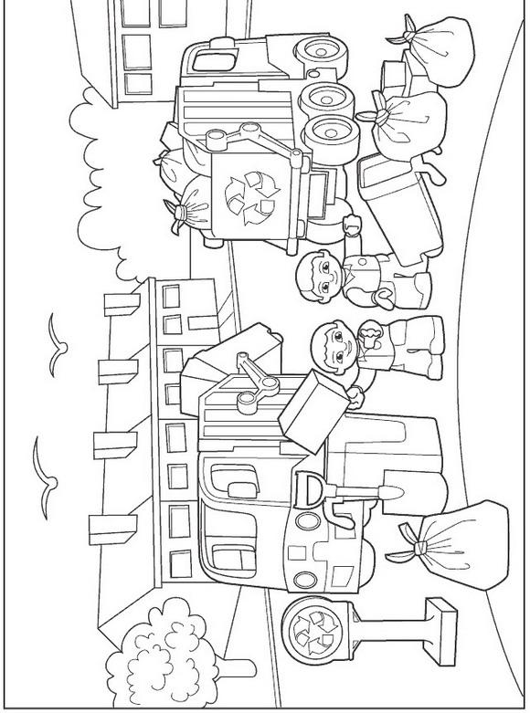 Lego Duplo (1) coloring page