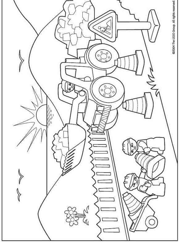 Lego Duplo (2) målarbok