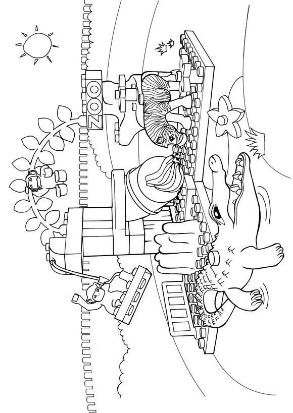 Lego Duplo (5) coloring page
