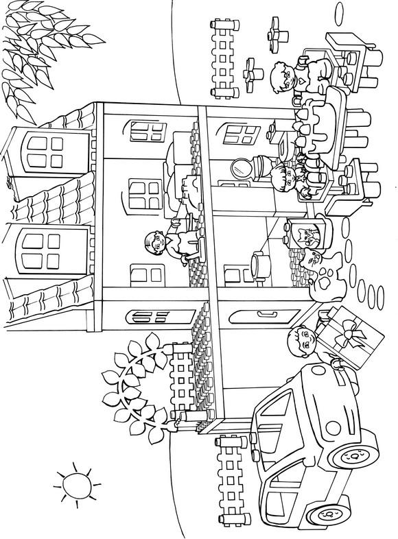 Lego Duplo (6) målarbok