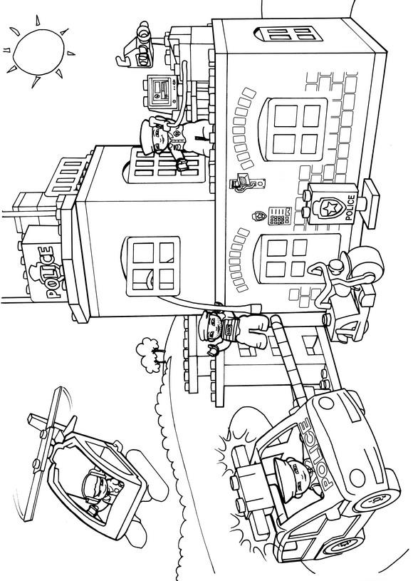 Lego Duplo (7) målarbok