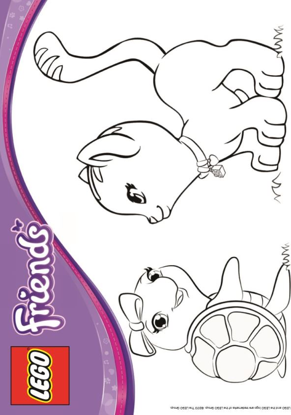 Lego Friends (14) coloring page