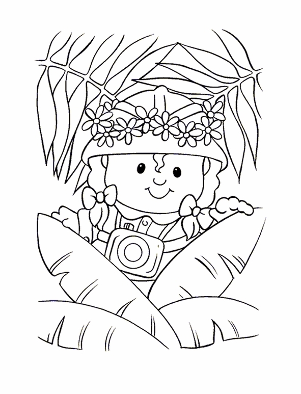 Little People (10) coloring page