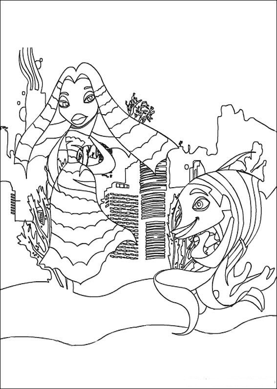 Lola and Angie coloring page