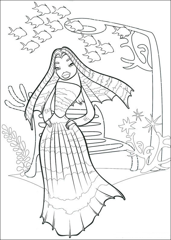Lola coloring page