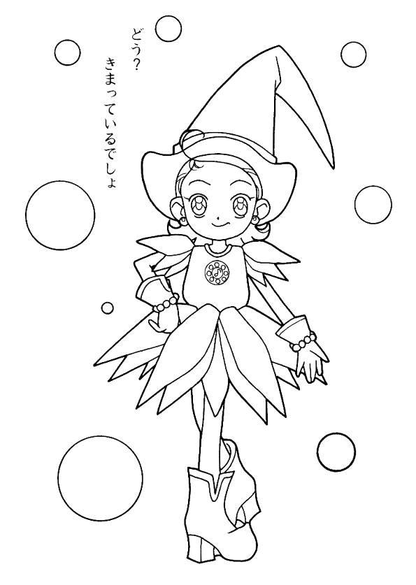 Magische Doremi (12) kleurplaat