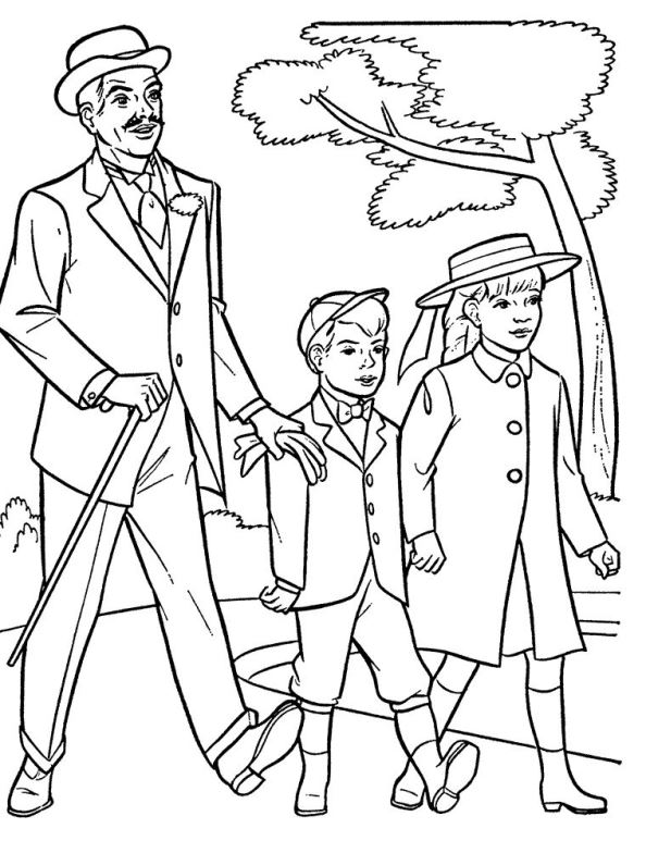 Mary Poppins (10) boyama