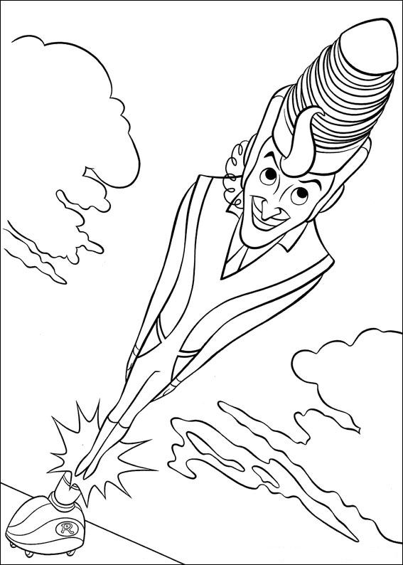 Meet the Robinsons (7) coloring page