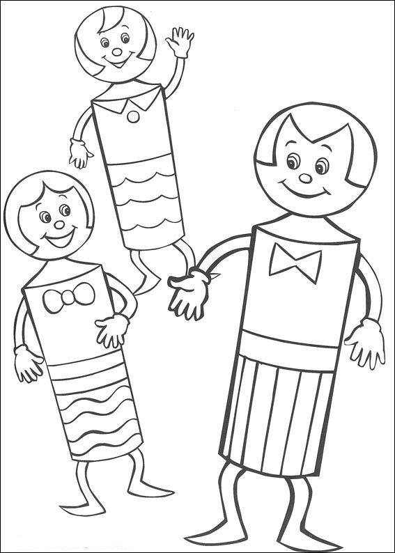 Colora Mr. Cone e il cono dei bambini
