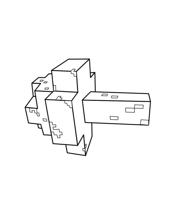 Minecraft (12), σχέδια για ζωγραφική
