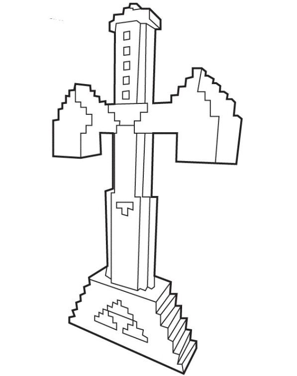 Kleurplaten Minecraft Creeper.Minecraft Kleurplaat